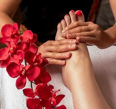 Acupressure, reflexology. Natural medicine, reflexology, acupressure foot massager oppress