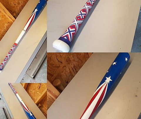 "Sasquatch Bat ""American Flag"" Edition"