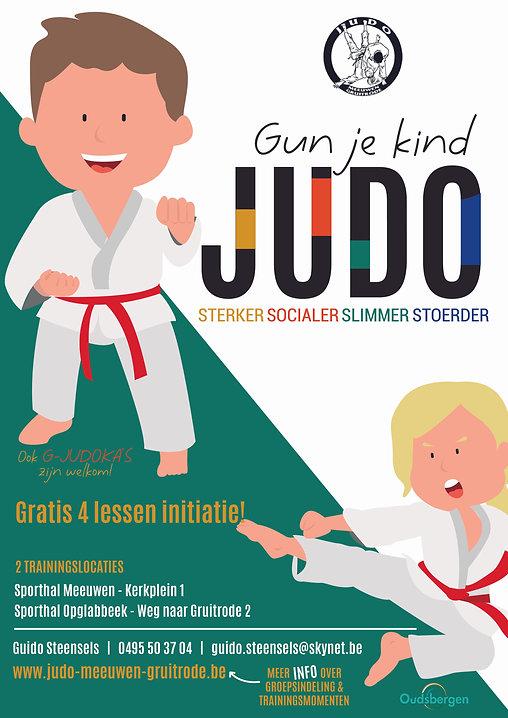 Gun je kind judo affiche.jpg