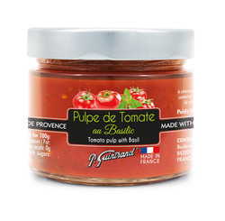 Pulpe tomate basilic 314 ml - Guintrand.