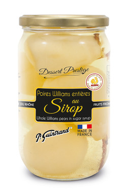 Poires williams entieres au sirop 850 ml