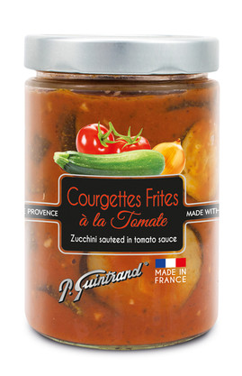 Courgettes frites a la tomate 580 ml - G