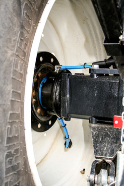 RDS/radial in eingebauter Position