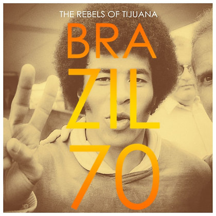 EP vinyl - The Rebels of Tijuana - Brazil 70