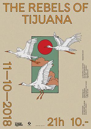 """2 Posters Rebels of Tijuana """"Asile"""" limited Ed"""