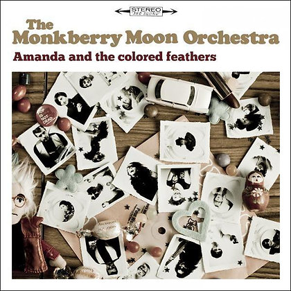 EP cd - MMO - Amanda & the colored feathers