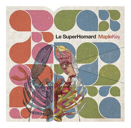 LP vinyl + cd - Le Superhomard - Maple key
