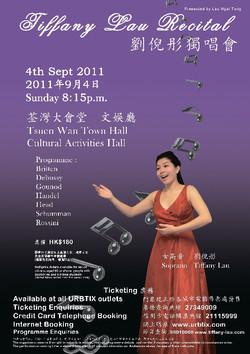 Tiffany Lau Vocal Recital 2011
