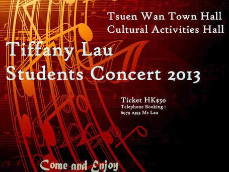 Tiffany Lau Student's Concert 2013