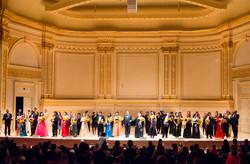 Awarding Ceremony at Carnegie hall
