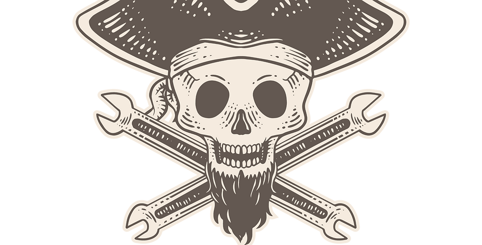 Blackbeard Bikes HAT sticker