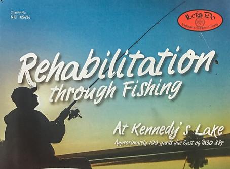Rehabilitation Through Fishing [fishing coaching courses] Beginning March 2020.