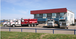 Trucks at Terroco Head Office