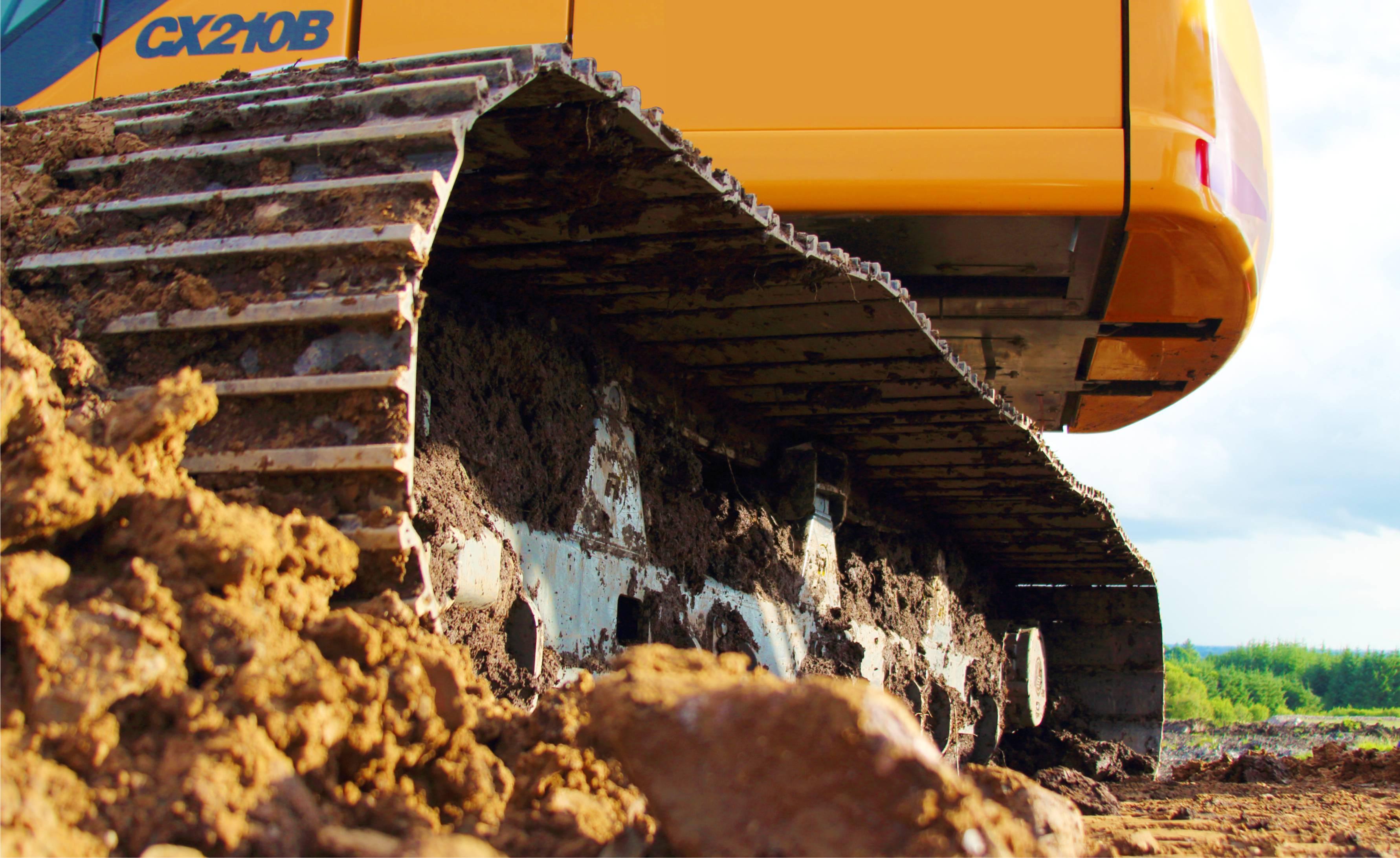 210 Excavator Undercarriage