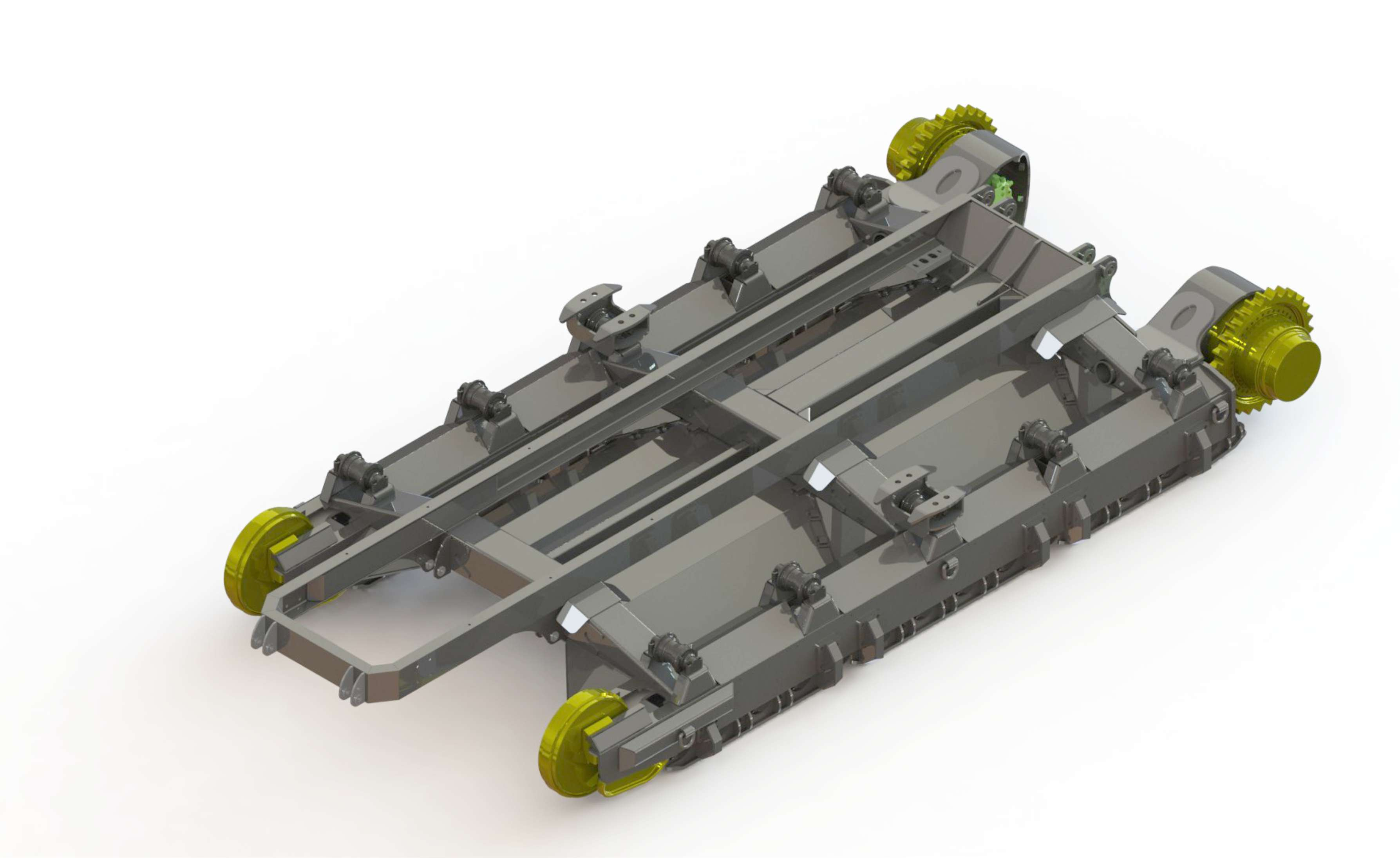 Custom undercarriage systems