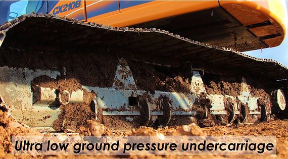 excavator undercarriage