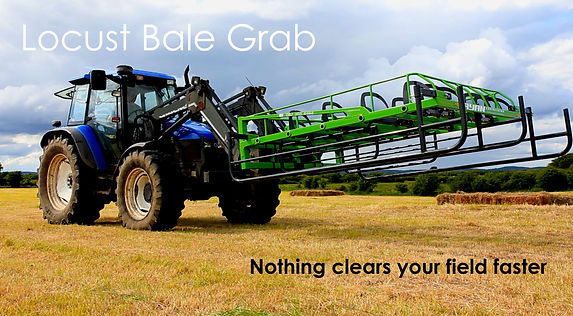 Bale grab, bale collectors, bale accumulator, square bales, farm equipment