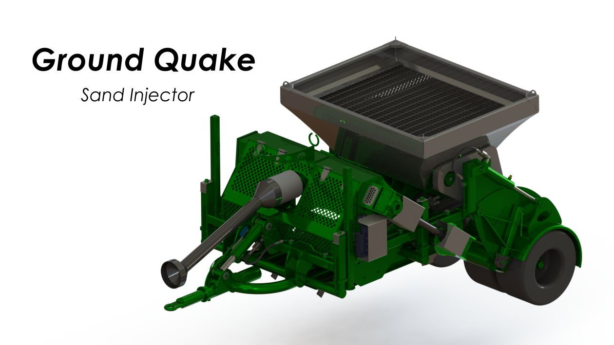 Ground Quake Sand Injector