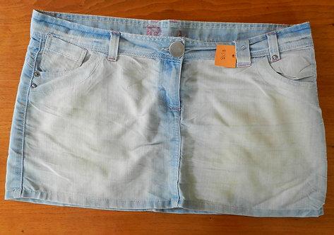 Jupe courte jeans