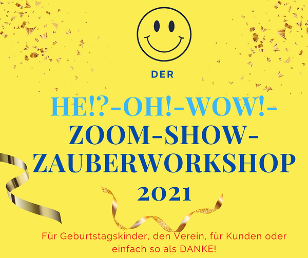Zoom-Show-Zauberworkshop-Video