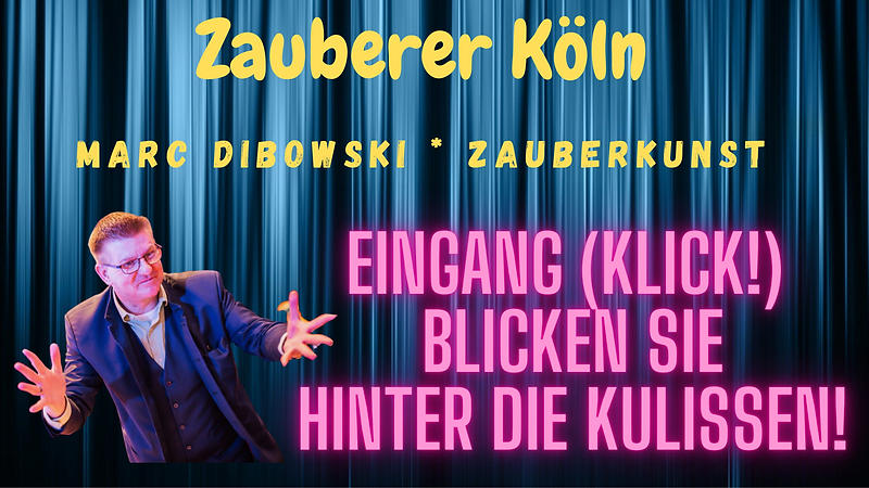 Zauberer in Köln gesucht