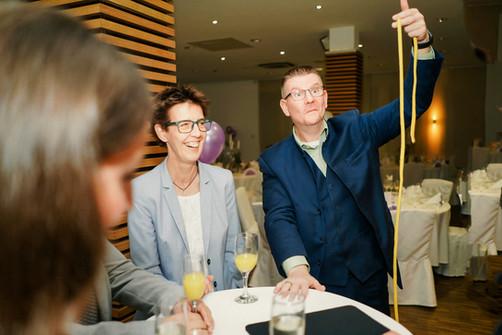 Sektempfang Idee Hochzeit Unterhaltung Dibowski NRW