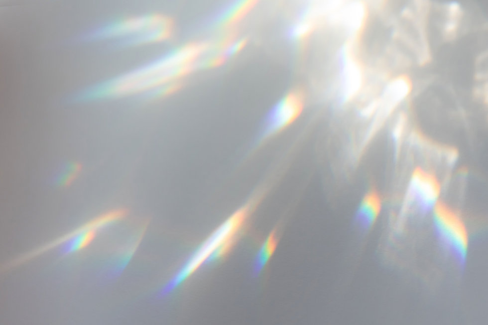 Blurred rainbow light refraction texture