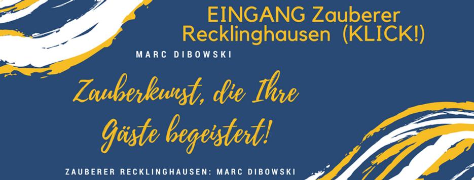 Zauberer Recklinghausen buchen Marl