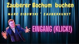 Zauberer Bochum