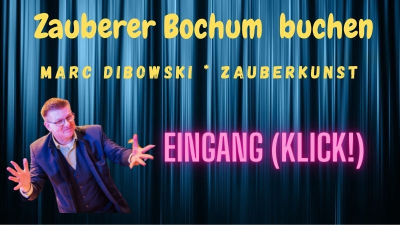 Zauberer buchen Bochum