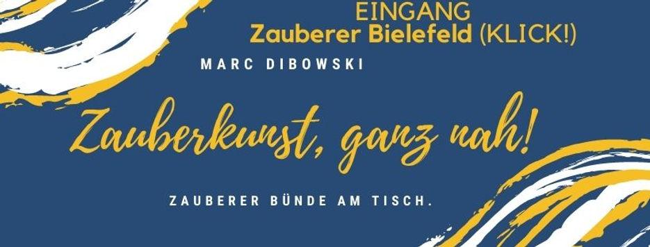 Zauberer Bielefeld Bünde-Tisch Dibowski