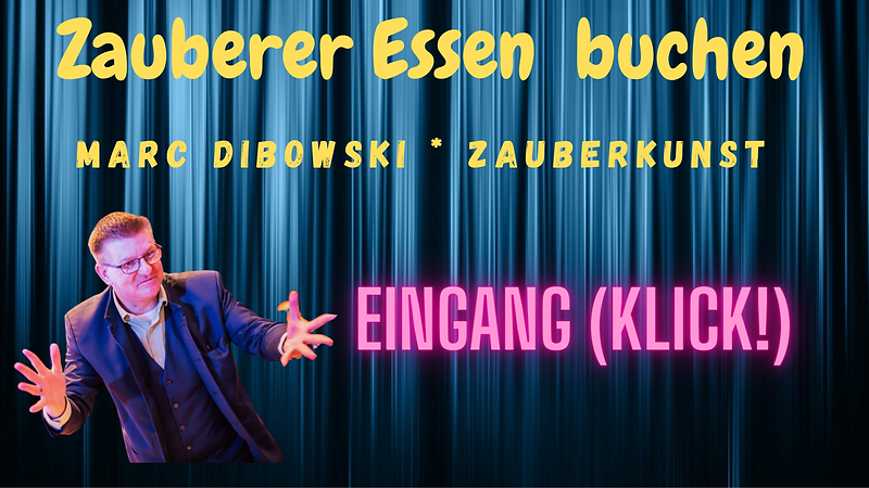 Zauberkünstler Stadt Essen Marc Dibowski