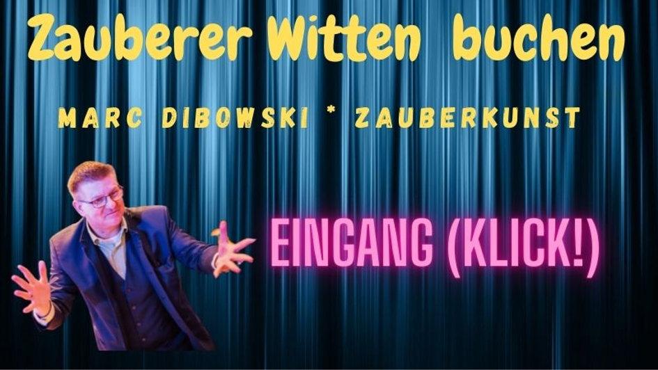 Zauberer Entertainer Idee Witten