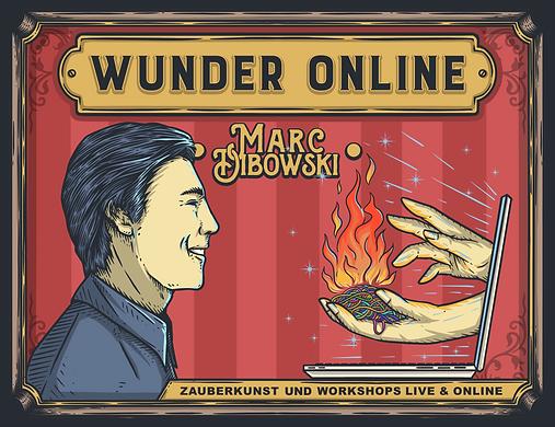 Zaubershow Online buchen Workshop Zaubern Zoom