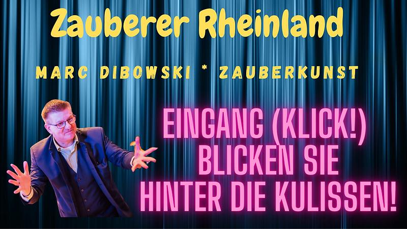 Zauberkünstler im Rheinland gesucht