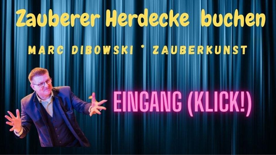 Zauberer Entertainer Idee Herdecke für Ihre Feier!