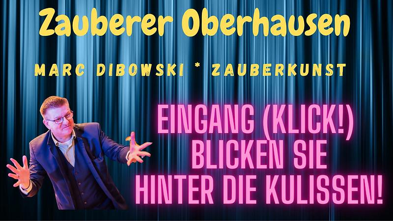 Zauberkünstler in Oberhausen gesucht