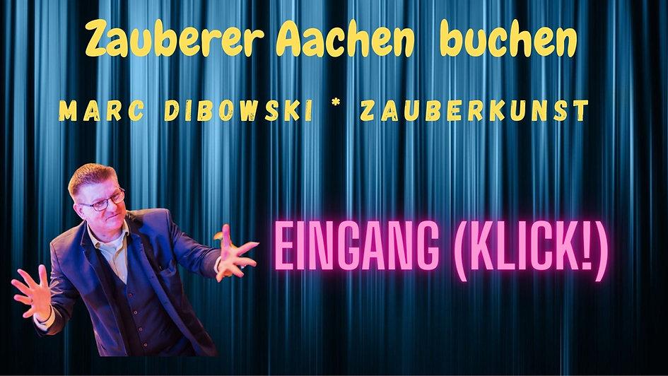 Zauberkünstler in Aachen gesucht?