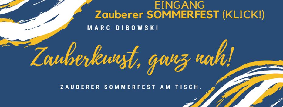 Zauberer Sommerfest buchen Firma Privat Dibowski