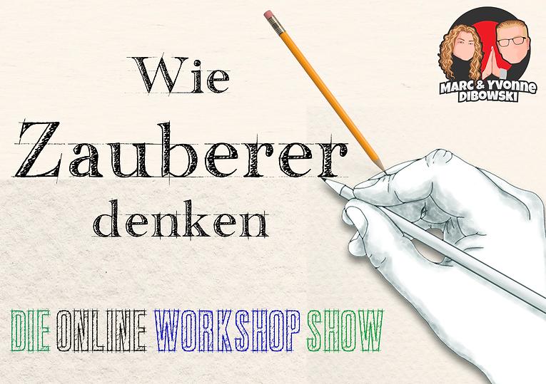 Wie Zauberer denken Workshop Show Dibowski