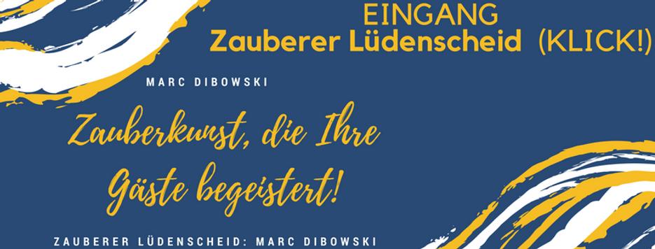 Zauberer Lüdenscheid am Tisch Marc Dibowski