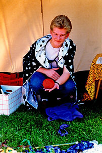 Dibowski als Teenager Zauberer