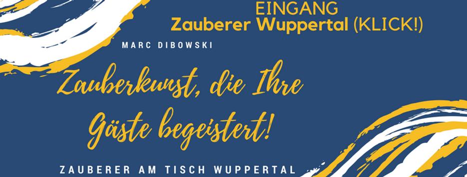 Zauberer Wupperta Marc Dibowski