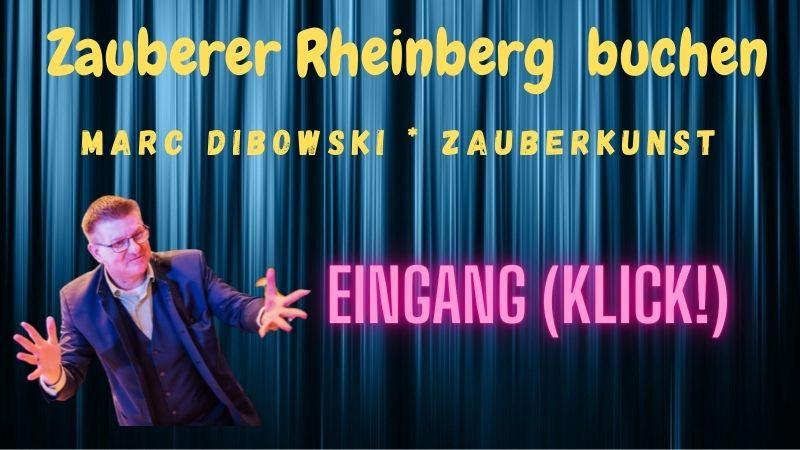 Zauberer Rheinberg engagieren.