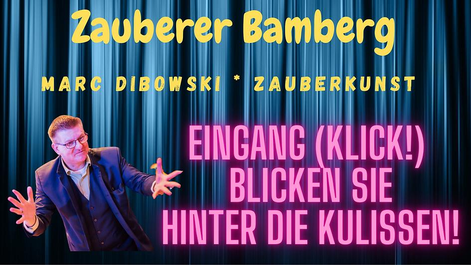 Zauberkünstler in Bamberg gesucht