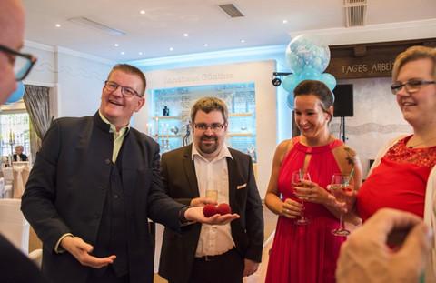 Empfang Idee Hochzeit lustiges Programm Dibowski