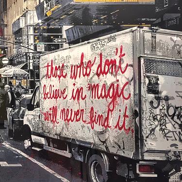 Glaube an Zauberei Zitat Zauberer