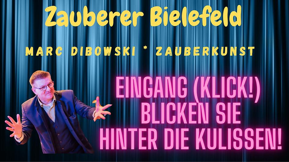 Zauberkünstler in Bielefeld gesucht