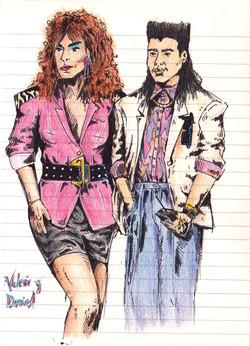 Valerie and Daniel