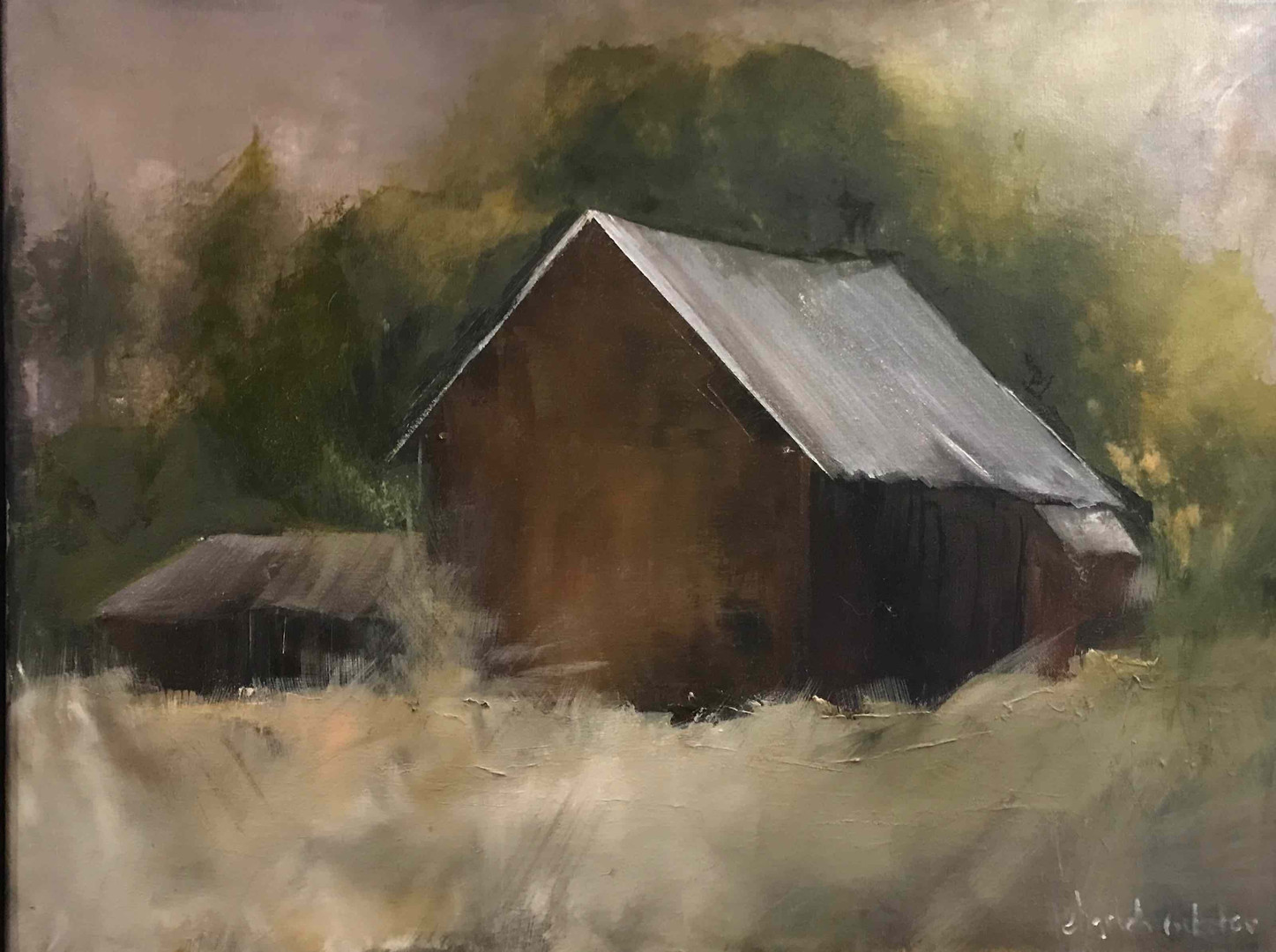 Just Off Stage Road_ oil_ 2018_18x24.jpg